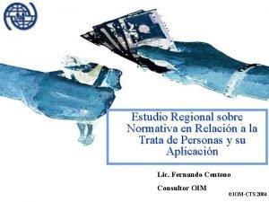 Estudio Regional sobre Normativa en Relacin a la