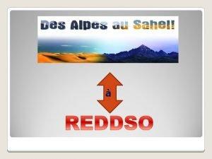 REDDSO Rgions pour lEducation au Dveloppement Durable et