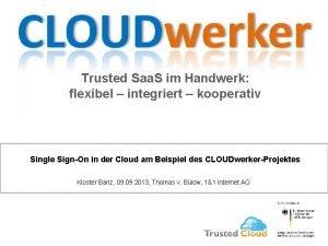 Trusted Saa S im Handwerk flexibel integriert kooperativ