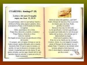 T Ordinario dom 3 B CUARESMA domingo 5