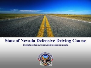 State of Nevada Defensive Driving Course Driving to