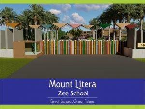 Mount Litera Zee School Pusad Mount Litera Zee