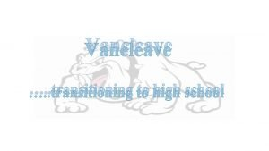 Vancleave transitioning to high school 4 x 4