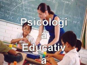 Psicologa educativa Psicolog a Educativ a Definicin Psicologa