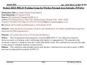 January 2016 doc IEEE 802 15 doc 16