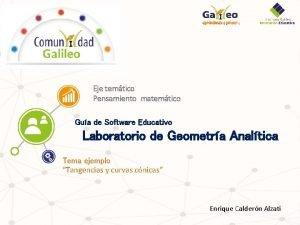 Eje temtico Pensamiento matemtico Gua de Software Educativo