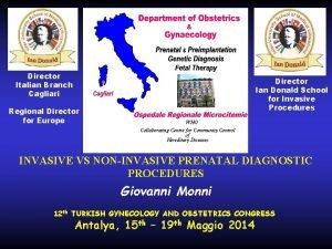 Director Italian Branch Cagliari Regional Director for Europe