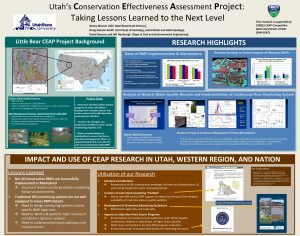 Utahs Conservation Effectiveness Assessment Project Taking Lessons Learned