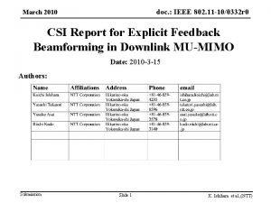 doc IEEE 802 11 100332 r 0 doc