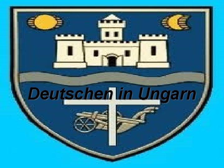 Deutschen in Ungarn Die 1 Deutschen in Ungarn