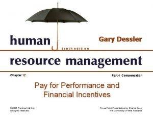 Gary Dessler tenth edition Chapter 12 Part 4