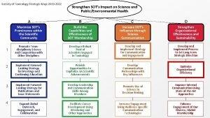 Society of Toxicology Strategic Map 2019 2022 Strengthen