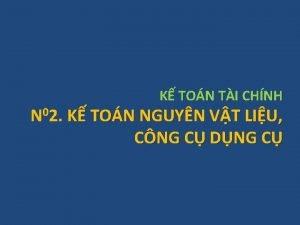 K TON TI CHNH N 02 K TON