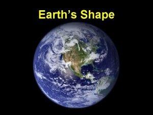 Earths Shape I Evidence of Earths Spherical Shape