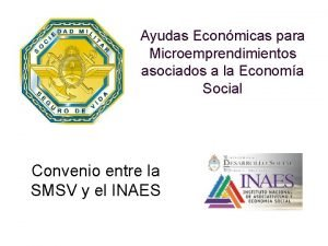 Ayudas Econmicas para Microemprendimientos asociados a la Economa