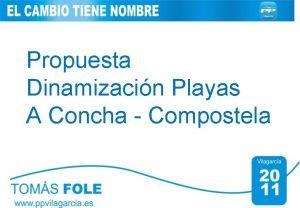 Propuesta Dinamizacin Playas A Concha Compostela Diagnstico 1