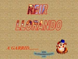 A GARRID Viendo Garrid actor de nuestra tierra