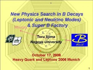 New Physics Search in B Decays Leptonic and