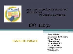 AIA AVALIAO DE IMPACTO AMBIENTAL EVANDRO SATHLER ISO