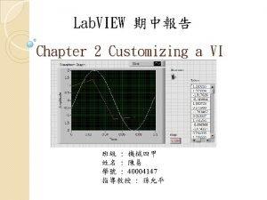 Create Numeric Indicator Create Control Enable Create Graph