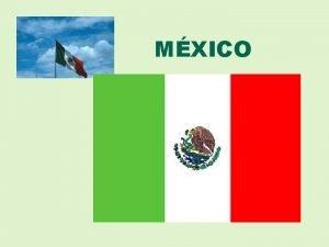 MXICO Mapa poltico La gente de Mxico Mapa