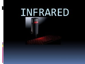 INFRARED Ir DA protokol Ir DA Infrared data