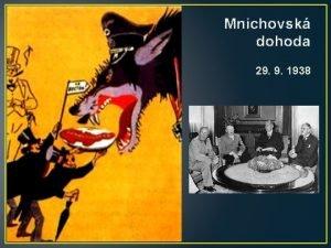 Mnichovsk dohoda 29 9 1938 PINY 1 Nrodnostn