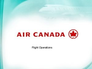 Flight Operations Aircraft Operating Procedures to Reduce Airport