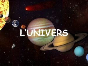 LUNIVERS Lunivers es va originar fa milers de