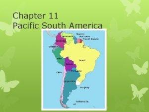 Chapter 11 Pacific South America Peru Peru Information