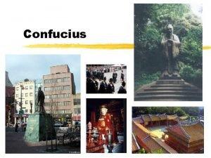 Confucius China before Confucius z The Yellow Emperor