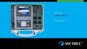 MI 3290 Earth Analyser Earth testers Earth Analyser