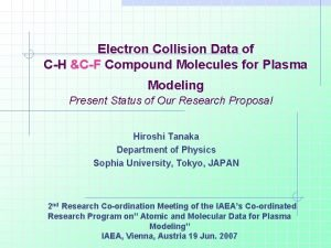 Electron Collision Data of CH CF Compound Molecules