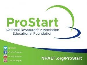 Pro Start Pro Start Program NRAEF orgPro Start