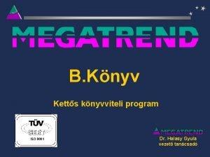 B Knyv Ketts knyvviteli program Dr Halasy Gyula
