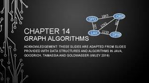 GRAPH ALGORITHMS 337 CHAPTER 14 LAX 4 17