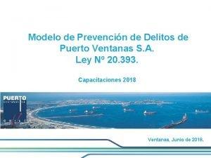 Modelo de Prevencin de Delitos de Puerto Ventanas