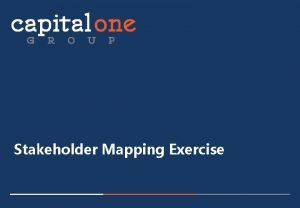 Stakeholder Mapping Exercise Are All Publics Equal Stakeholder