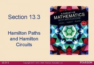 Section 13 3 Hamilton Paths and Hamilton Circuits
