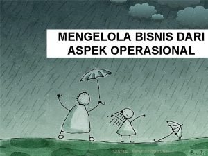 MENGELOLA BISNIS DARI ASPEK OPERASIONAL 1242020 ASPEK OPERASIONAL