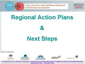 Supported by Latin America and Caribbean Network of