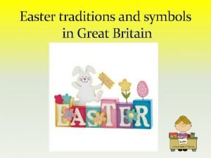 Easter traditions and symbols in Great Britain Easter