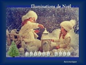 Illuminations de Nol Automatique Nuit Vient apporter la
