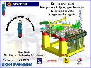 Kristin prosjektet best praksis i olje og gass