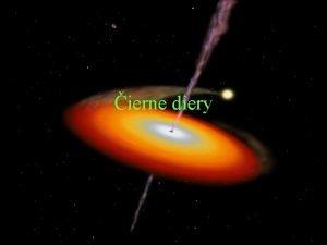 ierne diery ierna diera alebo kolapsar je kozmick