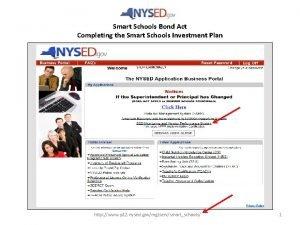 Smart Schools Bond Act Completing the Smart Schools