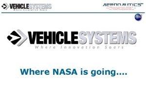 Aeronautics Technology Where NASA is going Aeronautics Technology