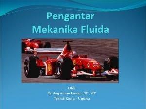 Pengantar Mekanika Fluida Oleh Dr Ing Anton Irawan