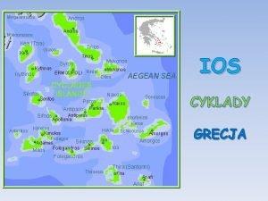 IOS CYKLADY GRECJA Ios jest grzyst wysp pooon