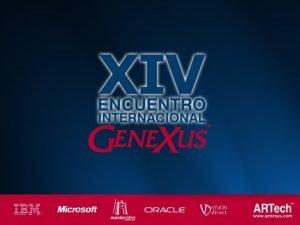 Gene Xus Mobile Application presente y futuro Claudia